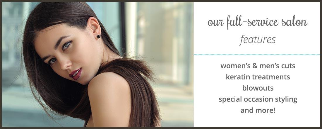 cincinnati hair salon features