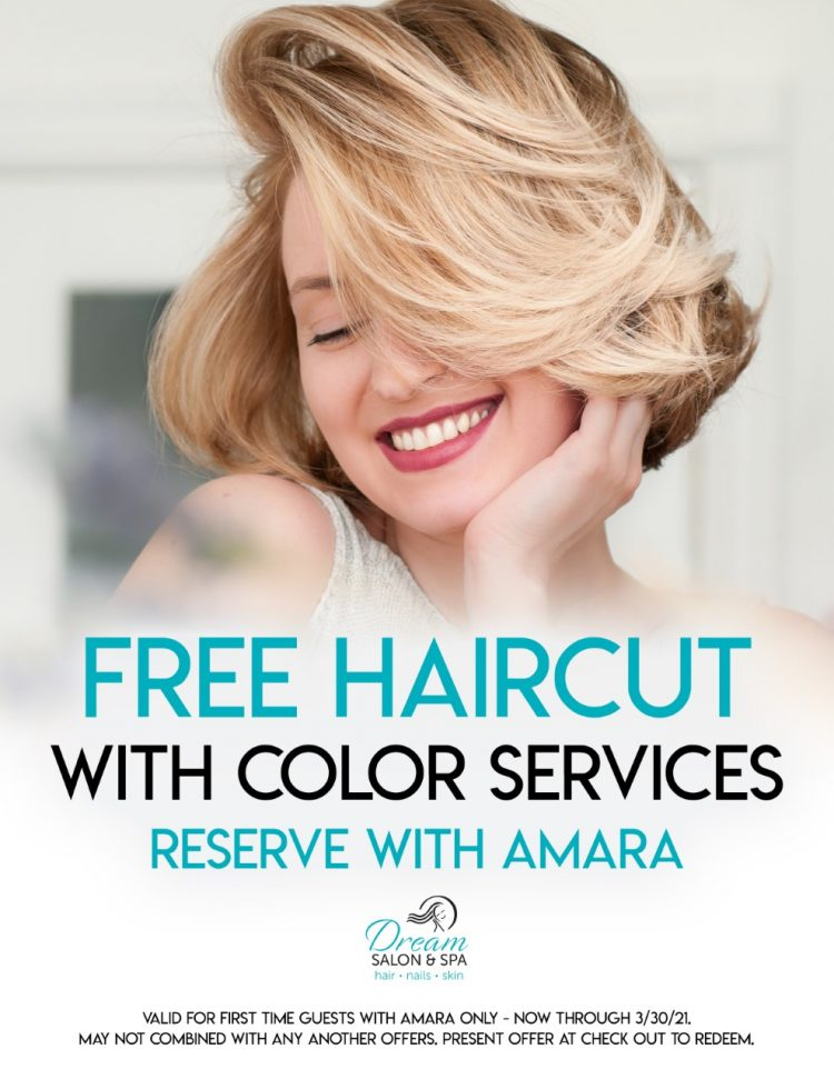 thumbnail_Dream Salon - Free Haircut with Color Services - Reserve with Amara 2