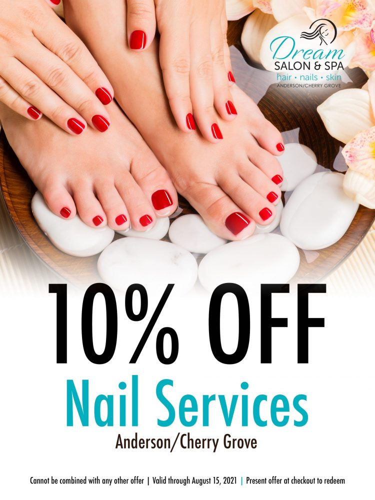 Dream - 10 OFF Nail Services ANDERSON